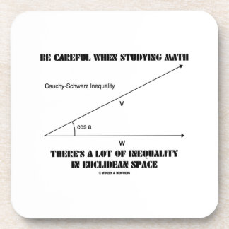Be Careful When Studying Math Inequality Euclidean Coasters