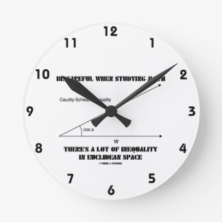 Be Careful When Studying Math Inequality Euclidean Wallclock