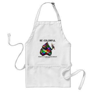 Be Colorful Promote An Open Source Mindset (Duke) Standard Apron