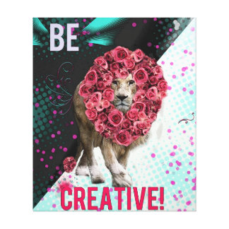 Be Creative Canvas Gallery Wrap Canvas