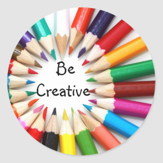 Be Creative Classic Round Sticker