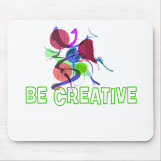 Be creative mouse mat