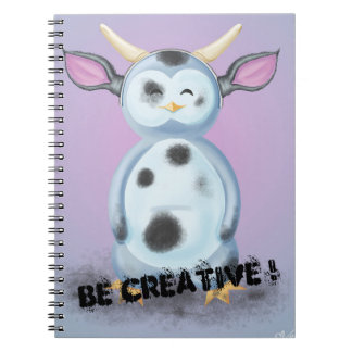 Be Creative! Puik-Puik is disguised in filthy cow Notebooks