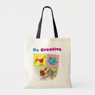 Be Creative Tote Bag