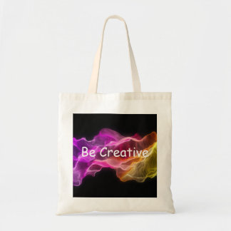 Be Creative Tote Canvas Bag