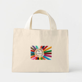 Be Creative Canvas Bag