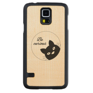 Be Curious Maple Galaxy S5 Case