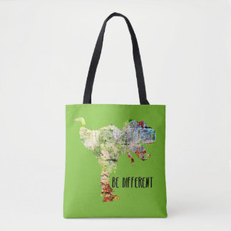 Be Different Dinosaur Tote Bag