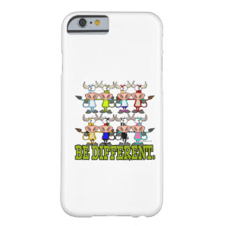 BE DIFFERENT funny funky cows Barely There iPhone 6 Case