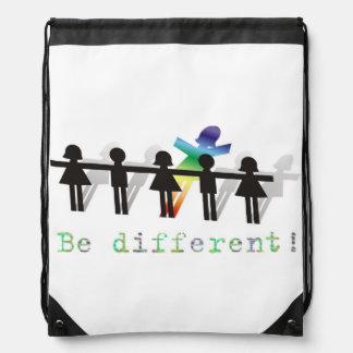 Be different! rucksacks