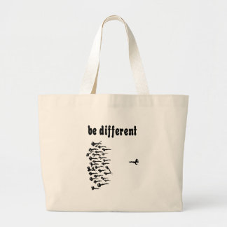 Be Different Sperm Large Tote Bag