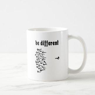 Be Different Sperm Coffee Mugs
