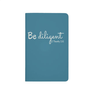 Be Diligent Journal - Lined
