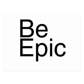 Be Epic Postcard