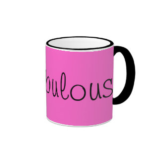 Be Fabulous! Ringer Mug