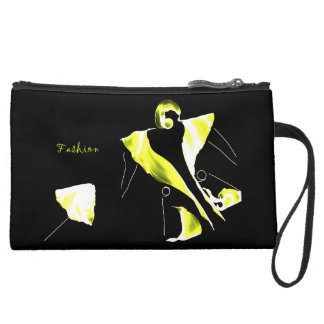 *Be Fashion & Chic * Suede Wristlet