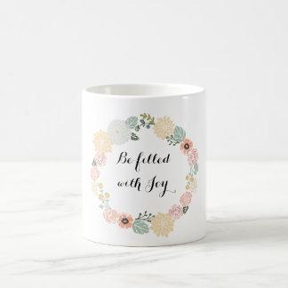 Be Filled With Joy Coffee Mug