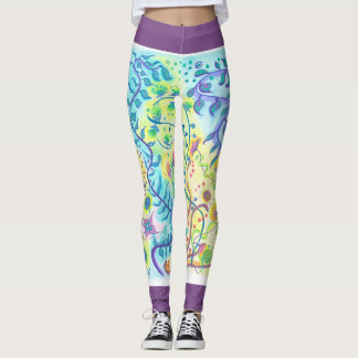 Be flexible Express your freedom - yoga Leggings
