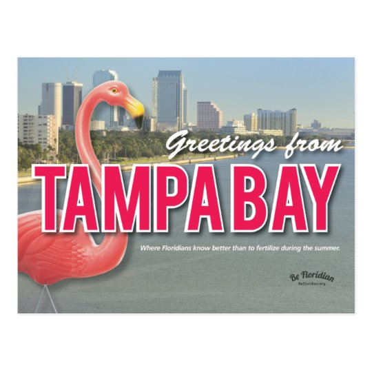 Be Floridian - Tampa Bay Postcard