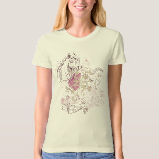 Be Free - Save the Horses Design T-Shirt
