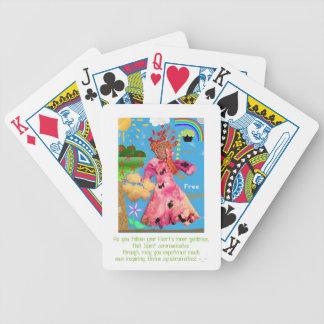 """""""Be Free Spirit!"""" Playing Cards"""