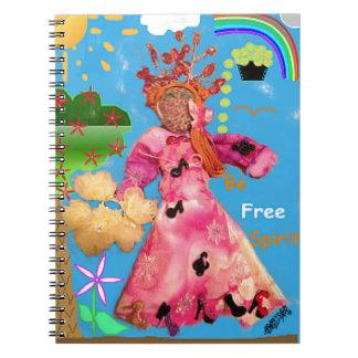 Be Free Spirit! ^_^ Spiral Notebook