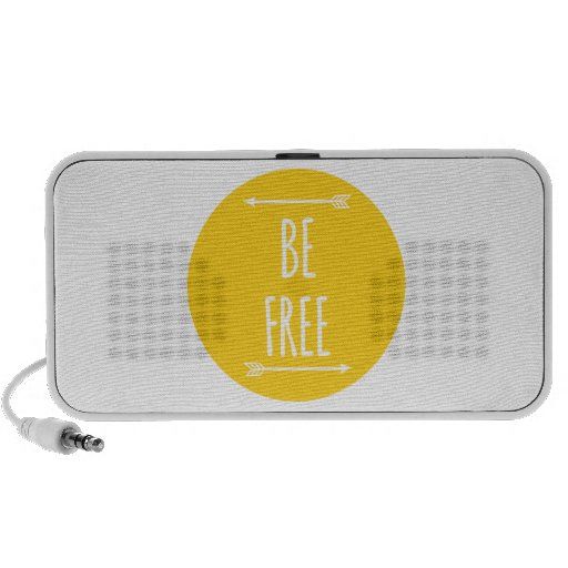be free, word art, text design speaker