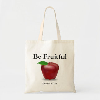 Be Fruitful Tote Bag