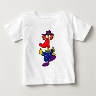 BE- Funny Duck Clown Design Tee Shirt