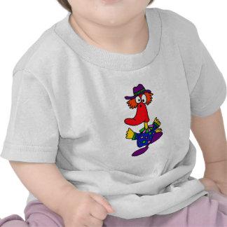 BE- Funny Duck Clown Design Shirt