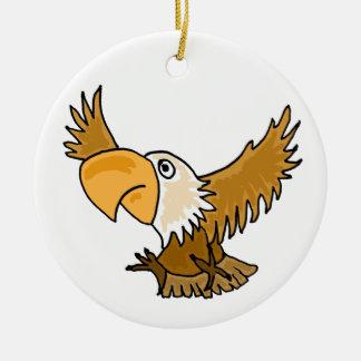 BE- Funny Eagle Ornament