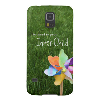 Be Good to your Inner Child Pinwheel Case Galaxy S5 Case