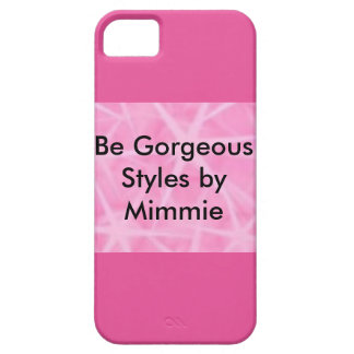 Be Gorgeous Styles By Mimmie iPhone 5 Covers