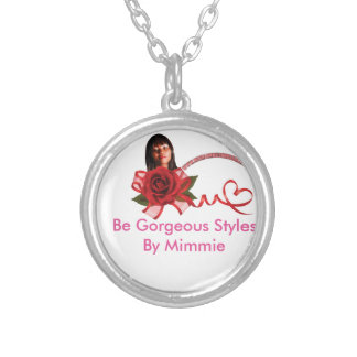 Be Gorgeous Styles By Mimmie Round Pendant Necklace