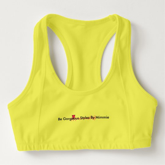 Be Gorgeous Styles bY Mimmie Sports Bra