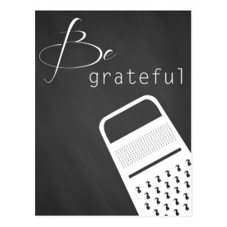 Be grateful Postcard