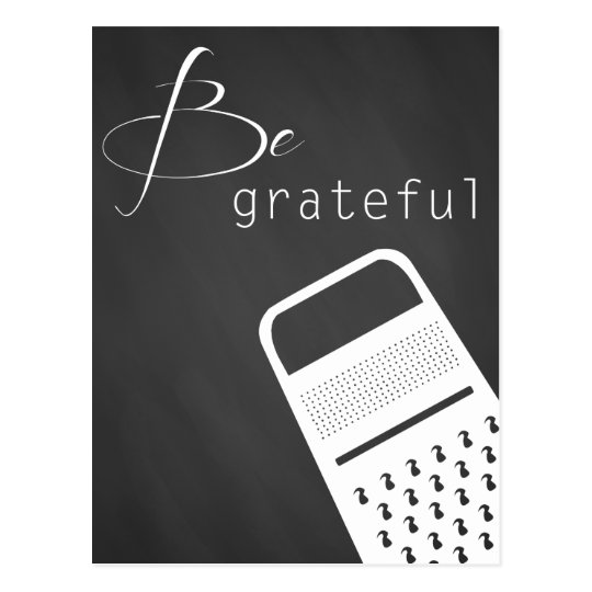 Be grateful Postcard
