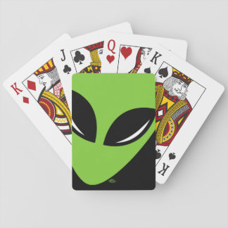Be Green Alien Deck Of Cards