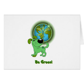 Be Green - Leaf Cards