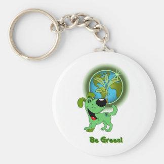 Be Green Leaf Keychains