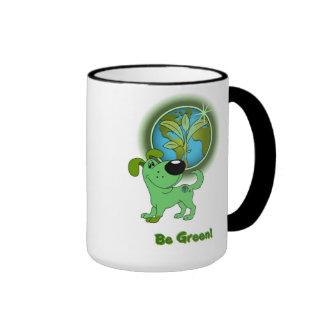 Be Green! - Leaf Ringer Mug
