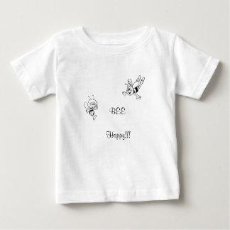 be happy, baby tshirt