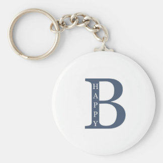 Be Happy (blue good) Keychains