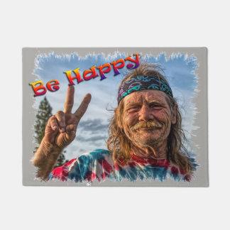 BE HAPPY DOORMAT