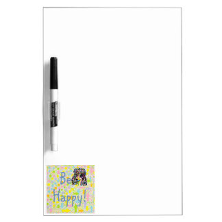 Be Happy Dry Erase Board