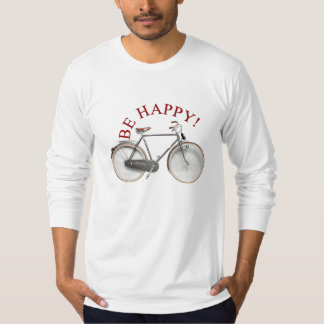 Be Happy/Happy Cycling T-Shirt
