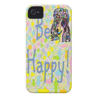 Be Happy iPhone 4 Cover