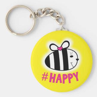 BE HAPPY :) KEY RING