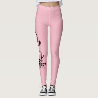 BE HAPPY LEGGINGS