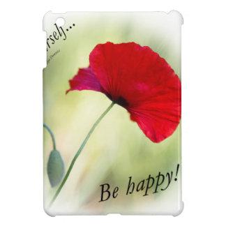 """Be happy! - Love Yourself..."" iPad Mini Cover"